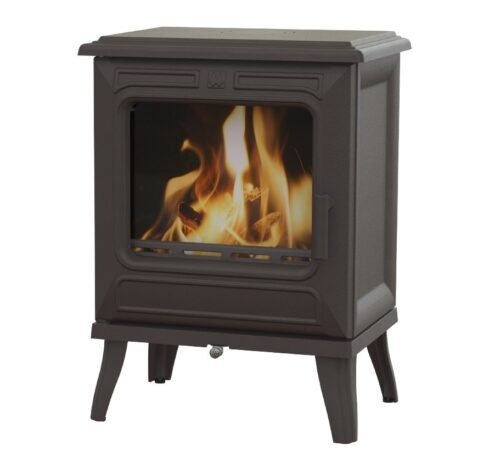Franco Belge Vicky 5 Wood 5kw Stove Cast Black
