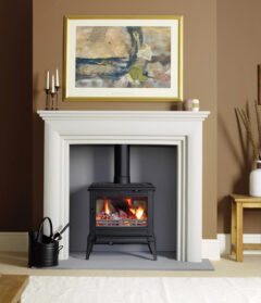 Franco Belge Monaco Wood 5.9kw Stove Cast Black