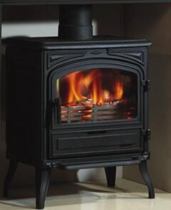 Franco Belge Limousin Wood 10kw Stove Cast Black