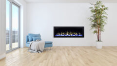 Franco Belge E-monaco 180cm 2140203 Electric Insert Fire