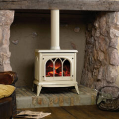 Gazco Ashdon - Ivory Painted Electric Stove