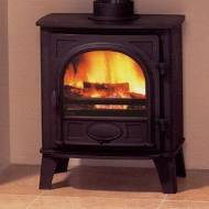 Stovax Stockton Medium Mk2 C/ Flue Log- Lpg- Black Stove