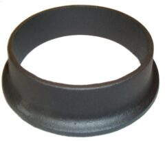 Gazco Conventional Flue Collar - Matt Black 8549
