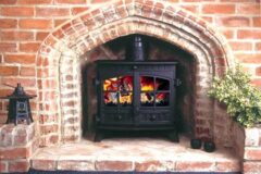 Hunter Herald 8 Slimline M/f M/b F/s Airwash Stove