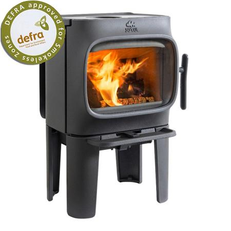 Jotul F105 Black Paint With Long Legs