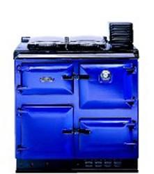 Rayburn 480kb Oil C/h Heatranger Classic Black