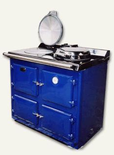 Sandyford Cooker Icon Oil Blue With Boiler C/h