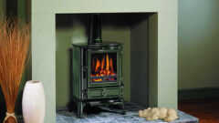 Stovax  Brunel Multi Fuel Stove 2cb  Laurel Green
