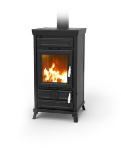 Thermorossi Llaria Easy Antracite Wood Stove