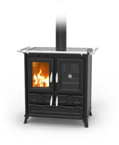 Thermorossi Klaretta Antracite Wood Cooker Only Part Code: Wklarettaeasy