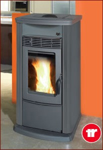 Thermorossi Ecotherm H2o 18  Easy Automatic Wood Pellet Stove