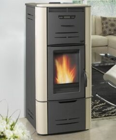 Thermorossi Ecotherm H2o 34 Restyling Auto Pellet Boiler Beige