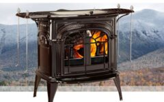 Vermont Intrepid Ii  Catalytic Wood Stove In Majolica Brown Enamel  0001987-I