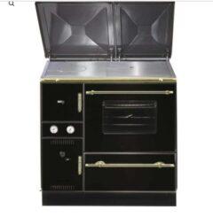 WAMSLER K148CL RHO BLACK/CHROME CENTRAL HEATING COOKER