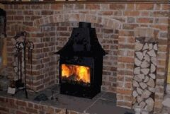 WOODWARM FIREVIEW 12KW PLUS LOW CANOPY