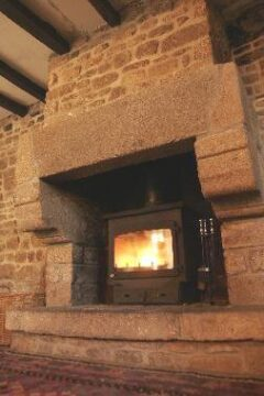 WOODWARM FIREVIEW 16KW FLAT TOP