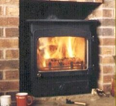 WOODWARM FIREVIEW 5KW SLENDER FLAT TOP (6KW)