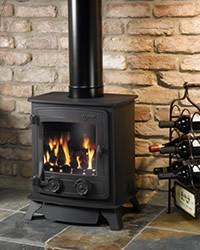 Yeoman Exmouth B/flue N/gas L/canopy Coals S/door
