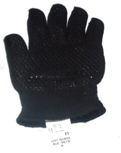 Arada Glove/mitten Black Single