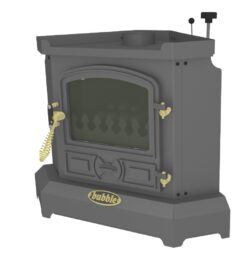 Bubble B1c-3/1 Bubble Corner 4kw Oil Boiler Anthracite