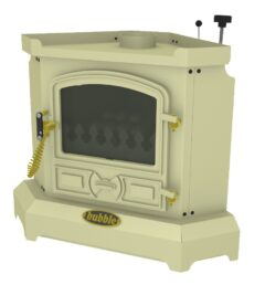 BUBBLE CORNER 4KW NO BOILER OIL STOVE ALMOND