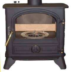BUBBLE B2 11KW LARGE BOILER OIL STOVE M/BLACK