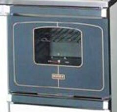 Bosky 90 Complete Oven Glass Door In Gunmetal