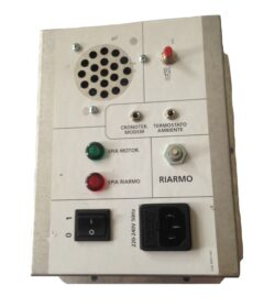 Thermorossi Pellet H2o/compact 18 Control Panel