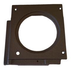 Flue Outlet Plate Cast Iron