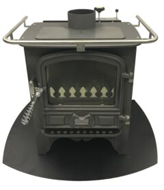Bubble Bb1 Half Pod Dry 5kw  Oil Stove In Anthracite