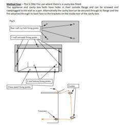 BURLEY CAV4111 ACUMEN INSET CAVITY BOX