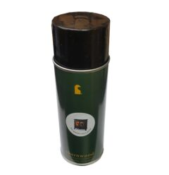 Charnwood 400ml Aerosol Spray Paint Can In Matt Black