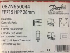 Danfoss - S Plan 28mm Heating Controls Pack