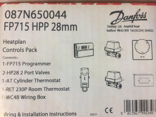 Danfoss - S Plan 28mm Heating Controls Pack