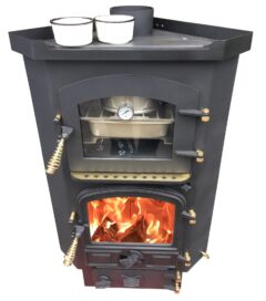 Bubble Corner Oven Stove Multi Fuel