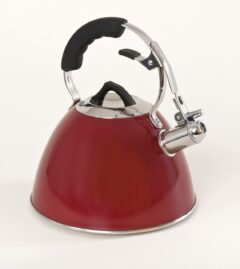 3 Litre Kettle Red Enamelled