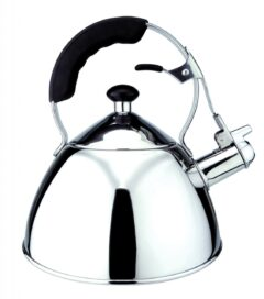 Stainless Steel 3 Ltr kettle, suitable for all hob types.