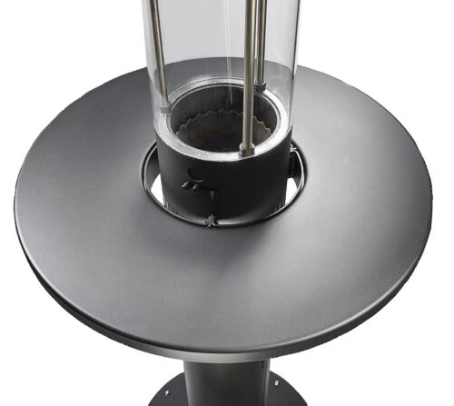 Faro Black Table For Outdoor Pyrolytic Heater H01031ado