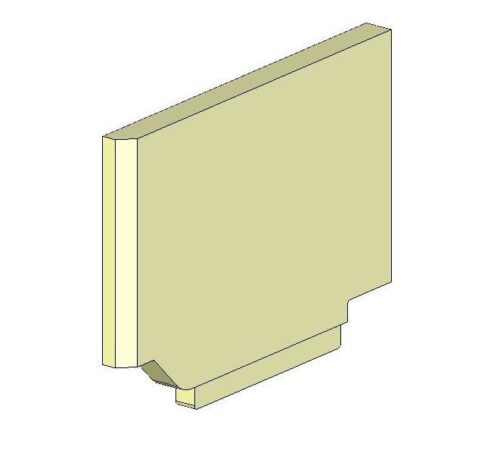 Hunter Telford 5 Inset / Chevin 5 Inset Left Side Brick - Lower (mkii)