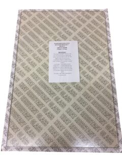 Hunter Herald 6 Gas Stove Glass Panel 470 X 315