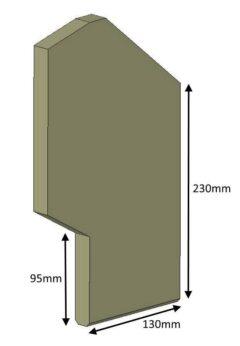 Hunter Avlon 5 Compact Side Brick