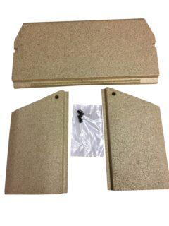 Jotul F105 Vermiculite Baffle/side Burn Plate