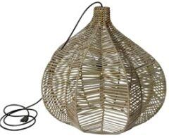 Glenweave Lamp In Grey ( L 60 X D 60 X H 55cm )