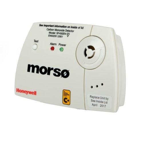Morso Honeywell Branded Carbon Monoxide Detector