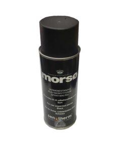 Morso Stove Paint Black 400ml Aersol Spray 6290220