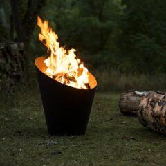 Morso Outdoor Living Fire Pot H55.7 X Dia Top 44.9 X Dia Bottom 25.6cm