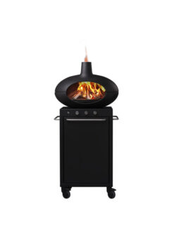 Morso Outdoor Living Forno Multi Gas & Wood W74 X H155 X L74.6cm