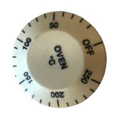 STANLEY OVEN KNOB ( 0 - 250DEG.C) WHITE BRANDON