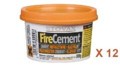 Stovax Fire Cement - 500g Tub (12)