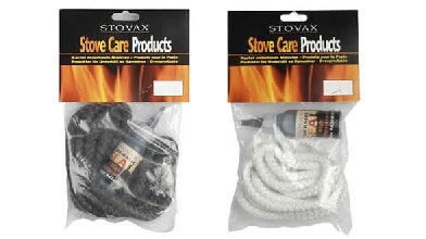 STOVAX - 6mm White Rope Stove Door Seal - 7020